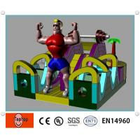 Quality Giant Commercial Inflatable Bouncers , Giant Man Inflatable Bouncers wholesale