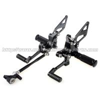 Quality Custom Motorcycle Rear Sets / Aluminum Alloy Motorcycle Foot Pegs wholesale