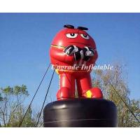 Quality 2017 hot sale replica inflatable m&m giant inflatable chocolate with black base for advertising wholesale