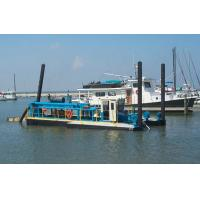 Quality jet suction type sand gold dredger equipped with separation machine wholesale