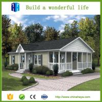 Quality Prefab light steel cottage insulated panel 2 bedrooms home plan wholesale