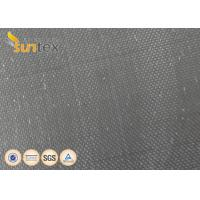 Quality Stress Relief Vibration Black Neoprene Coated Fiberglass Fabric For Expansion Joint wholesale