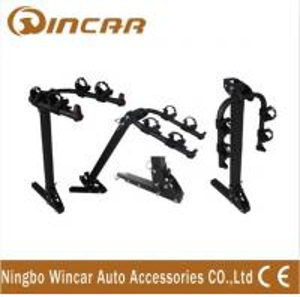 Quality Steel Hitch Rear Car Bike Racks For 2 Bikes , Easy - Transporting Bike Rack Car wholesale