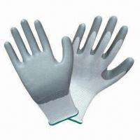 Quality Polyester Gloves with Nitrile Coating wholesale