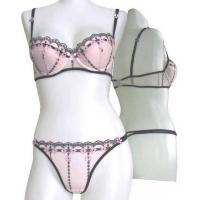Buy cheap Women's Underwear,Lingerie,Bra Sets with Embroidery from wholesalers