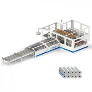 China Full Automatic Paper Making Machine Toilet Tissue Packing Machine 140 Pcs/min Production Capacity 1-5 Lanes 10-30min 1 o on sale