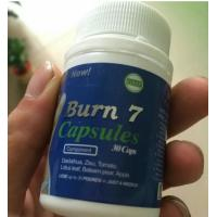 China BURN 7natural effect  fat burner quick lose weight capsules best choice for diet herbal slimming pill on sale
