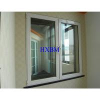 China Good Performance Upvc Sash Windows , White Upvc Double Glazed Windows on sale