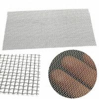 Quality Stainless Steel Square Wire Mesh Woven Cloth Cylinder Filtering Plain Twill Dutch Weave wholesale