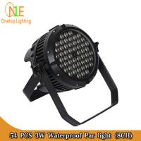 Quality DJ Light Factory 54pcs 3W waterproof par light rgbw stage light wholesale