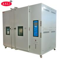 Quality ASLI Lab Testing Cold Room Walk In Environmental Chamber Water / Air Cooling wholesale