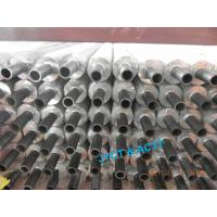 Quality Rolling Type Extruded Heat Exchanger Fin Tube With Iron Aluminum / Copper Aluminum wholesale