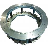 Cheap Double plate, aluminum sand casting, component of knitting machine, precision for sale