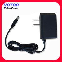 Cheap 12V 1A Power Adapter US For CCTV Camera With CE Rohs Approval for sale