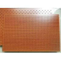 Quality Fireproof Wooden Acoustic Perforated MDF Panels For Wall And Ceiling wholesale