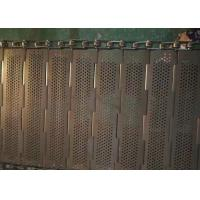 Buy cheap Robust Chain Mesh Conveyor Belt , Stainless Steel Mesh Belt Easily Cleaned And from wholesalers