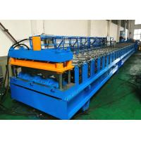 Quality Electrically Driven Steel Deck Roll Forming Machine With Siemens PLC Control System wholesale
