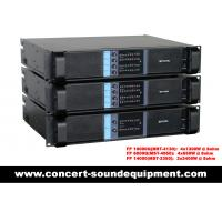 China Concert Sound Equipment / 4 Channel 4x1300W Switching Amplifier FP 10000Q With Actual Copper Heat Sink on sale