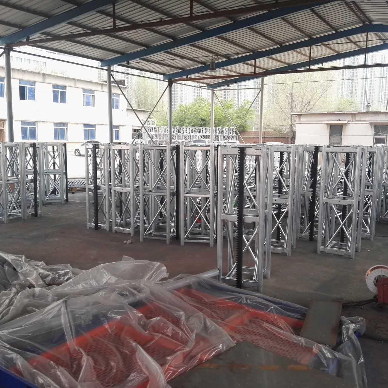 Quality CE Customized Color 450 Mast Industrial Lift With Motor Power 2x15kw, 400kg Lifting Device wholesale