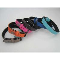 Quality nylon hemp dog Cat collar -Reflective fishbone leash and harness wholesale