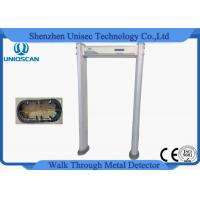Quality 18 Zone Door Security Guard Metal Detector Airport Body Scanner With High Sensitivity wholesale