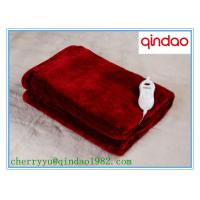 China Ten Heat Settings Timer Heated throw Electric Over Blanket on sale