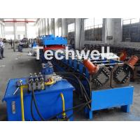 Buy cheap 2 In 1 Metal Stud Roll Forming Machine , Sheet Metal Roll Forming Machines from wholesalers
