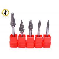 China Small Tungsten Carbide Bur Rotary File Burr For Metal And Non Metal Machining on sale