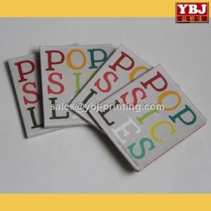 China custom made colorful board book printing on demand on sale