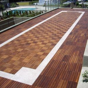Quality Waterproof Wood Outdoor Decking Flooring wholesale