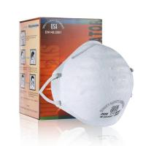 China 3M N95 Dust Mask Adjustable Headband Round Filter Respirator Anti Virus on sale