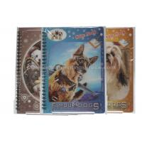 Quality Cute Souvenir Gift 3D Lenticular Notebook A4 Size Offset UV Printing wholesale