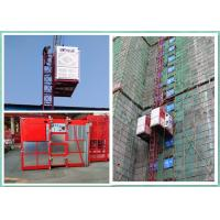 China Twin Cages Passenger And Material Hoist Lifting Equipment For Construction Site on sale