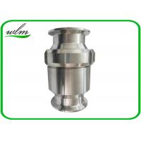 "Quality Tri Clamp Sanitary Check Valve With Clamp Liner End , 1"" - 4"" Union Screw Fixed wholesale"