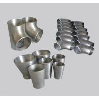 China Multifunctional  astm b363 titanium alloy pipe fittings in stock on sale