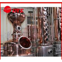 Quality 1700L manual industrial alcohol distillation equipment 1 - 3layers wholesale