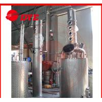 Quality 500L Commercial Alcohol Distilling Equipment Semi-Automatic PED wholesale