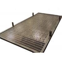 Custom Frame Design Stainless Steel Interior Partition With Rigid Weave Mesh