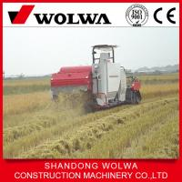 Quality hot sale rice combine harvester with low price w4sd-2.0d with 88hp big power wholesale