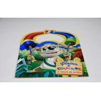 Quality Kids Saddle Stitch Book Binding Perfect Binding / Coloring Book Printing wholesale