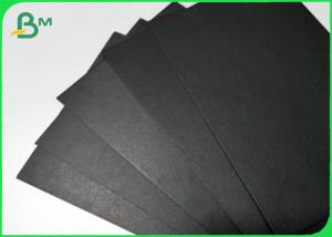 China Foldable FSC Approved Black Paper Board Paper Box Material Paper 300gsm 350gsm on sale