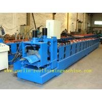 Quality ISO / CE Approved Metal Ridge Cap Tile Roll Forming Machine Production Line High Speed wholesale