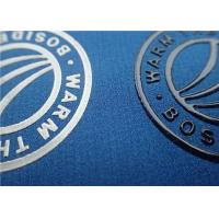China Screen Printing Silicon Heat Transfer Clothing Labels With Shiny Color Surface Brand Logo on sale