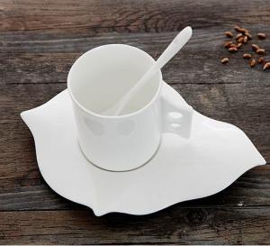 China Certifiction 3512 bone china coffee diamond heating plate ash 45% hot plates for coffee mug on sale
