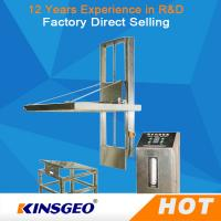 Quality AC380V±10% 50Hz Electric Durable Package Testing Equipment , Incline Impact Strength Tester wholesale