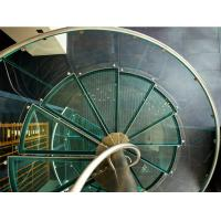 Quality Spiral staircase glass stairs glass balustrade wholesale