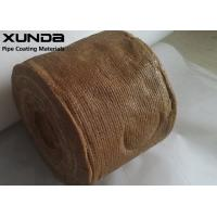 China Petro Wrapping Anti Corrosive Tape For Ring Plate And Steel Pipe Fitting on sale