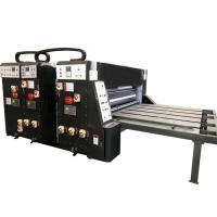 Quality Water Ink Printing Slotting Die Cutting Machine Semi Automatic Grade For Carton Box wholesale