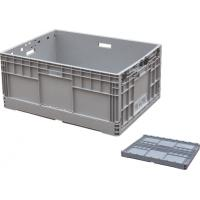 China Light Duty Portable Plastic Storage Crate Customized Size And Color on sale