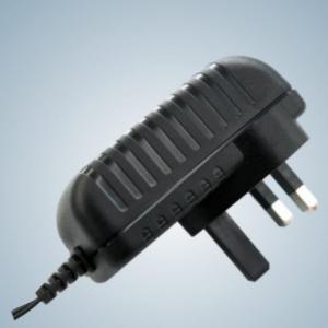 Cheap 24W Wall Mount Universal AC Power Adapter EN60950 / EN60065 for Electronics for sale